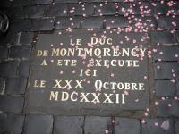 Exécution d'Henri II de Montmorency, Toulouse