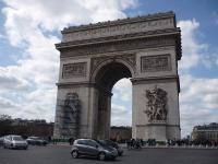 Arc de Triomphe, statues aveugles