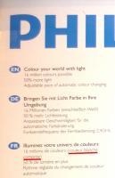 Philips et ses 16 millions et une couleurs