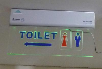 Signalisation toilettes vietnam